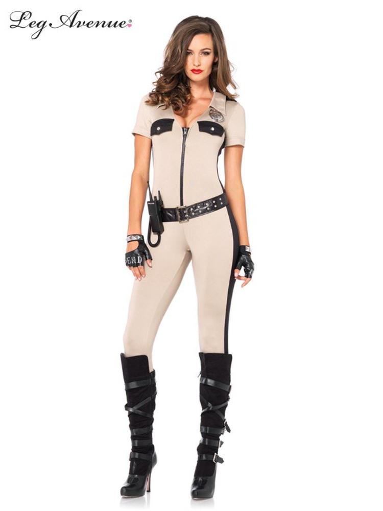 Deputy Patdown Womens Costume