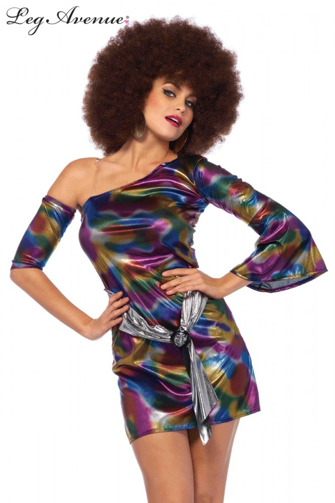 1970s Disco Doll Womens Costume