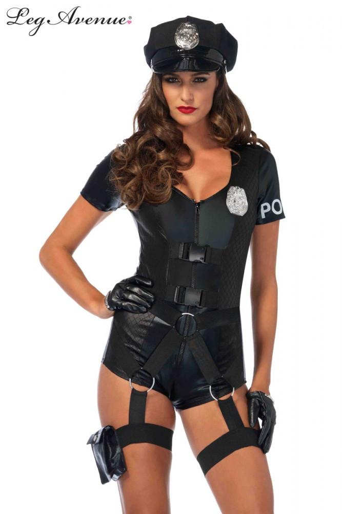 Police Flirty Five-O Womens Costume