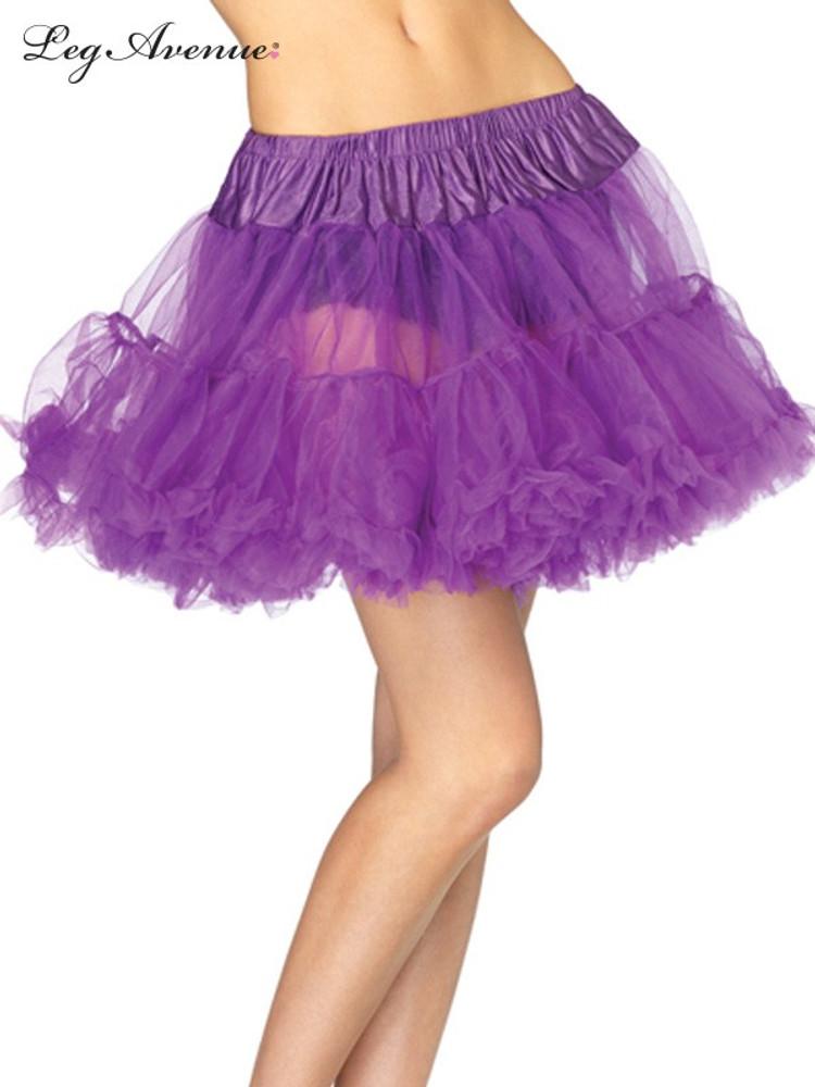 Petticoat Layered Tulle Purple
