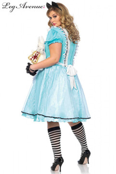 Alice in Wonderland Tea Time Plus Size Womens Costume