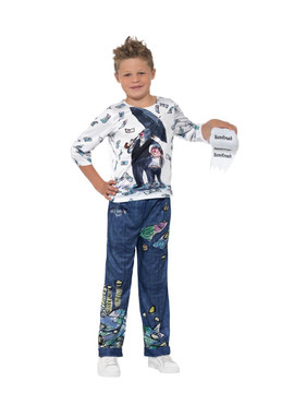 David Wallaims Deluxe Billionaire Boy Costume
