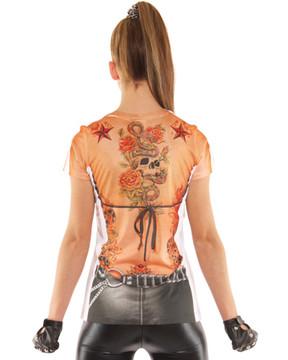 Biker T-Shirt Costume
