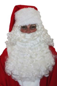 Santa Deluxe Half Wig & Beard
