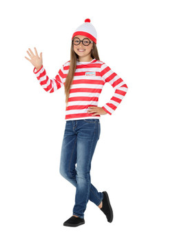 Where's Wally? Instant Kit Kids Costume
