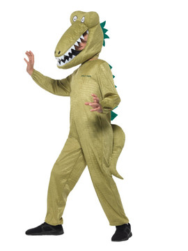 Roald Dahl Enormous Crocodile Kids Costume