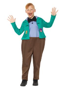 Roald Dahl Augustus Gloop Kids Costume