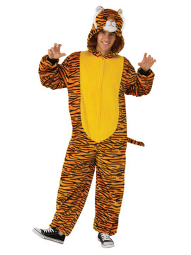 Tiger Furry Onesie Costume