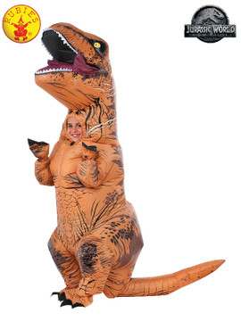 Jurassic World T-Rex Inflatable with Sound Kids Costume