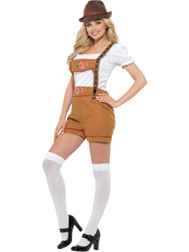 Bavarian Sexy Beer Girl Costume