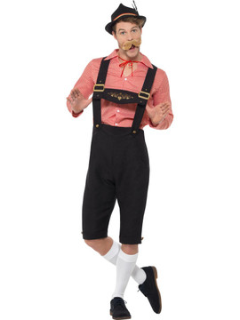 Oktoberfest Bavarian Beer Guy Costume