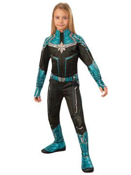 Captain Marvel Kree Girls Costume