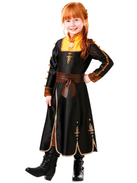 Frozen 2 Anna Girls Costume