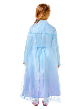 Frozen 2 Elsa Deluxe Girls Costume