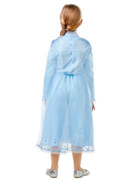 Frozen 2 Elsa Classic Girls Costume