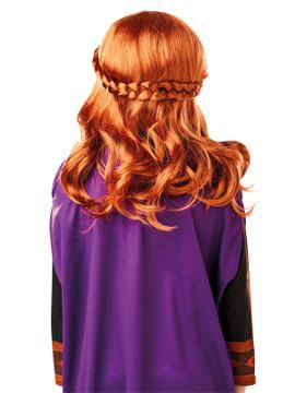Anna Frozen 2 Wig Child