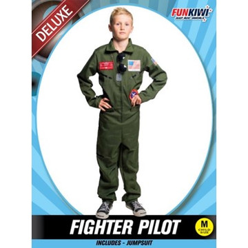Fighter Pilot Kids Costume