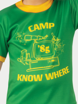 Stranger Things Dustin Camp Know Where Kids T-Shirt