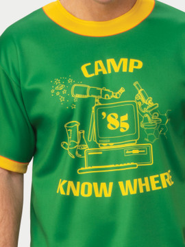 Stranger Things Dustin Camp Know Where Adult T-Shirt