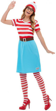 Wheres Wally? Wenda Deluxe Womens Costume