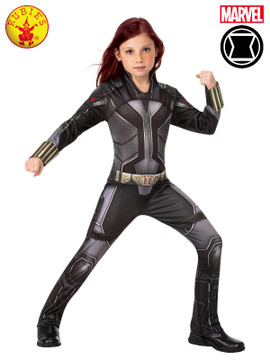 Black Widow Avengers Classic Girls Costume