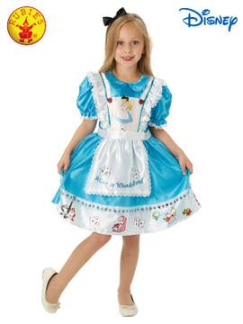 Alice in Wonderland Deluxe Girls Costume