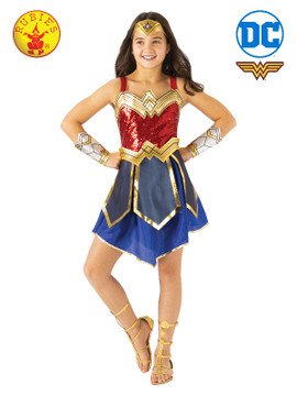 Wonder Woman Premium 1984 Girls Costume