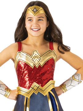 Wonder Woman Premium 1984 Girls Costume