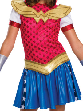 Wonder Woman DC Hoodie Girls Costume
