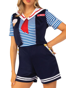 Stranger Things Robin Scoops Ahoy Woman's Costume