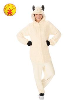 Llama Hooded Adult Costume