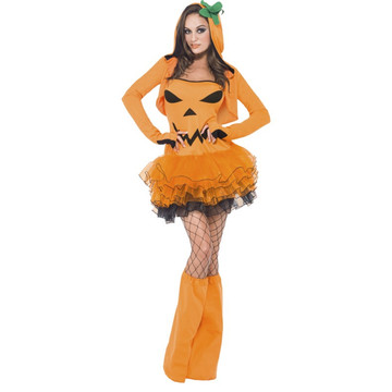 Pumpkin Tutu Womens Costume