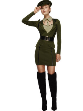 Army Captain Women's Costume