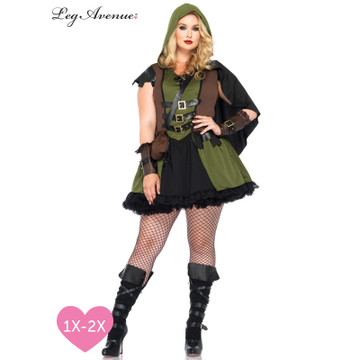 Robin Hood Darling Plus Womens Costume