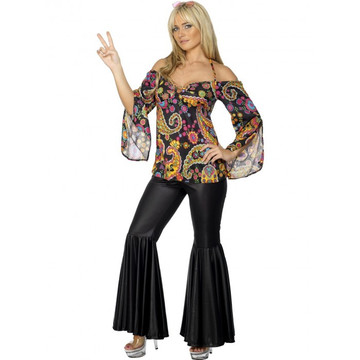 1960s 70s  Female Hippie Costume