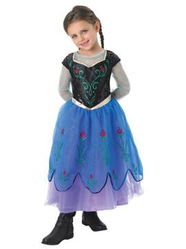 Frozen Anna Premium Girls Costume