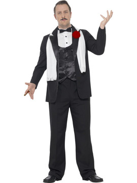 1920s Mens Plus Costume