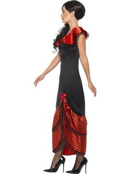 Spanish Flamenco Senorita Costume