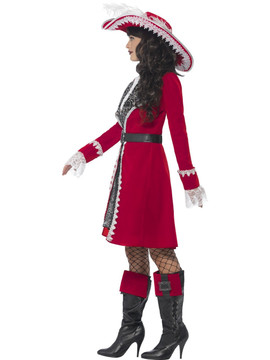 Pirate Lady Captain Costume