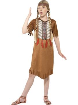 Native Indian Girl Costume