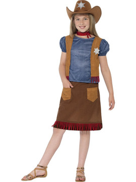 Cowgirl Western Belle Girls Costume