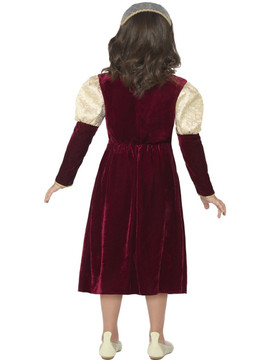 Tudor Damsel Girls Costume