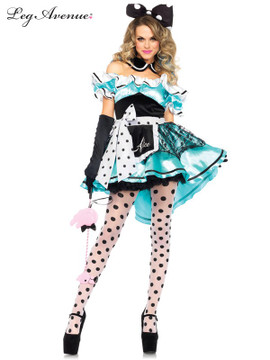 Alice in Wonderland Delightful Alice Womens Costume