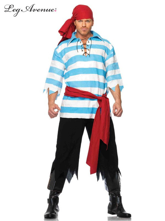 Pirate Pillaging Mens Costume