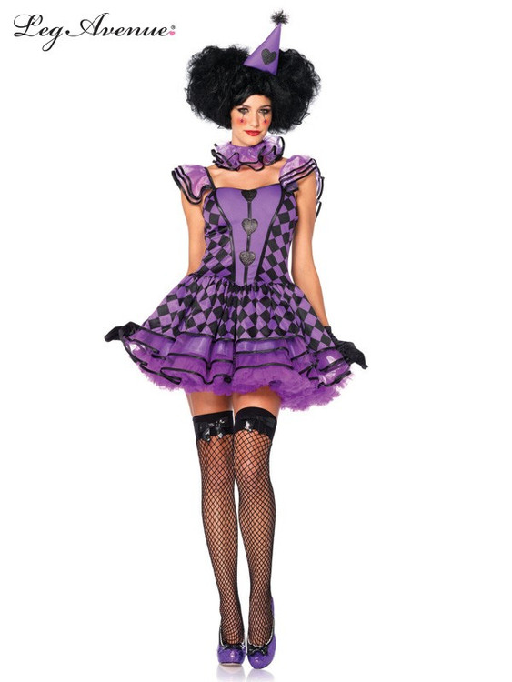 Clown Pretty Parisian Adult Costume