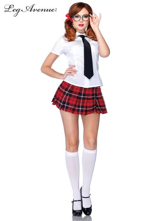 Private School Sweetie Womens Costume