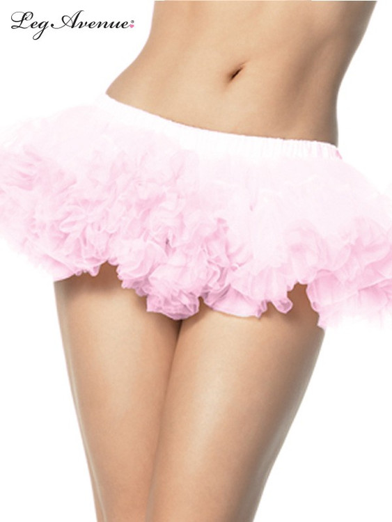 Petticoat Puffy Chiffon Mini Pink