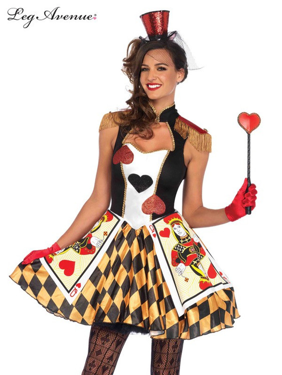 Alice in Wonderland Queen's Card Guard Womens Costume