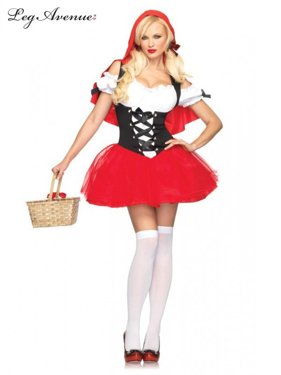 Red Riding Hood Racy Womens Costume