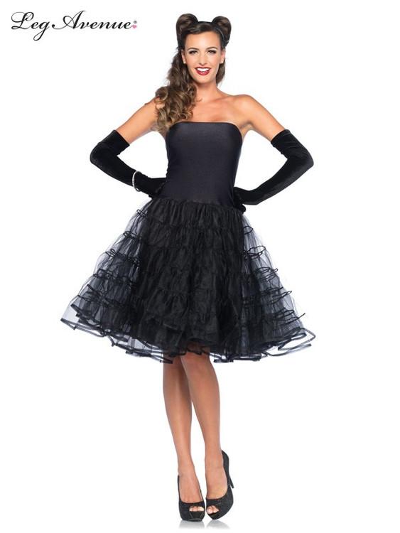 Rockabilly Swing Dress Womens Costume